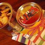 Biscoito de Natal em embalagem ecológica