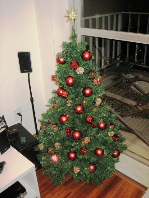 Minha primeira árvore de Natal