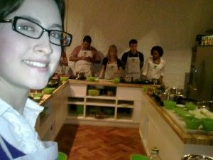 Aula de culinaria da Knorr Cíntia Costa
