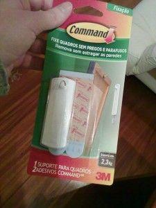 Gancho adesivo (suporte para quadro) Command 3M
