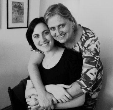 Mãe e filha: Eliana e Cíntia
