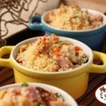 Couscous marroquino em cumbucas