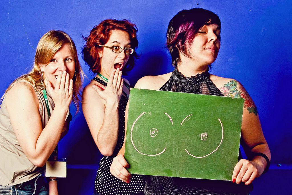Decote indecente - LuluzinhaCamp para Gabi Butcher/ Dia Positivo Fotografia