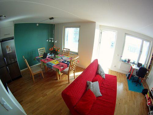 Decoração do apartamento colorido da MaWá e do Weno.