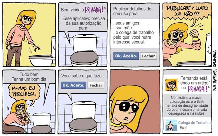 Aplicativos invasivos no Facebook