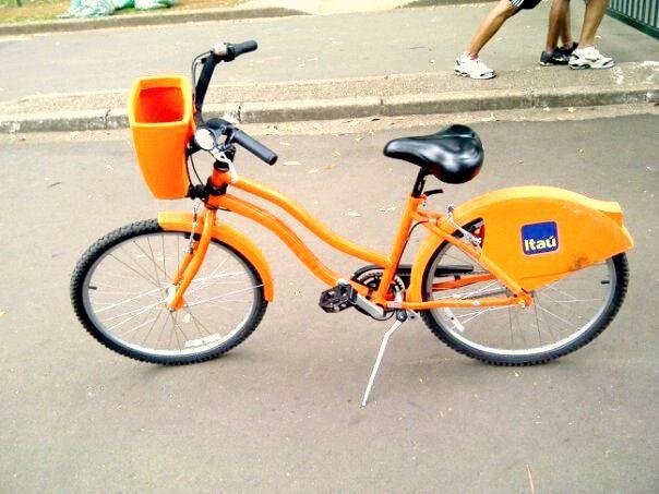 Bicicleta bike Itaú