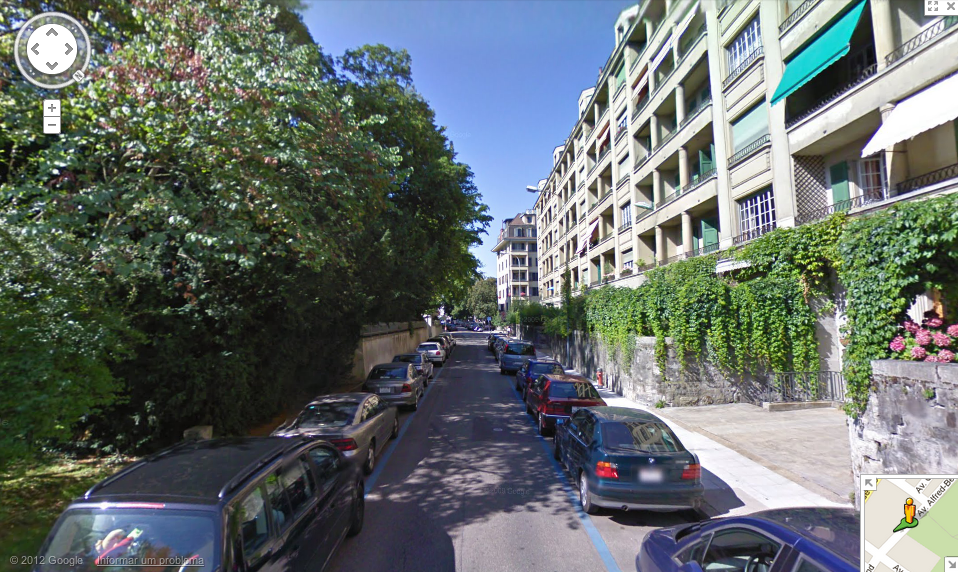 Google Street View em Genebra