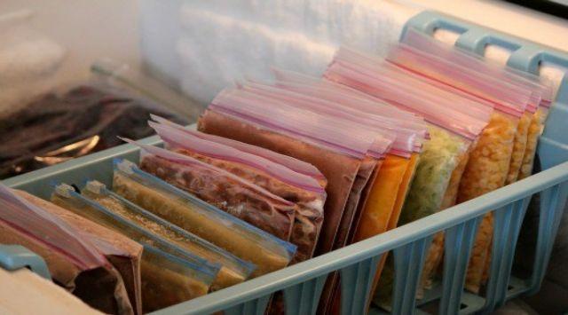 Organização do congelador: como economizar espaço no freezer.