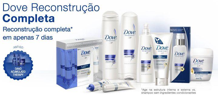 Dove Reconstrução Completa 7 Dias.
