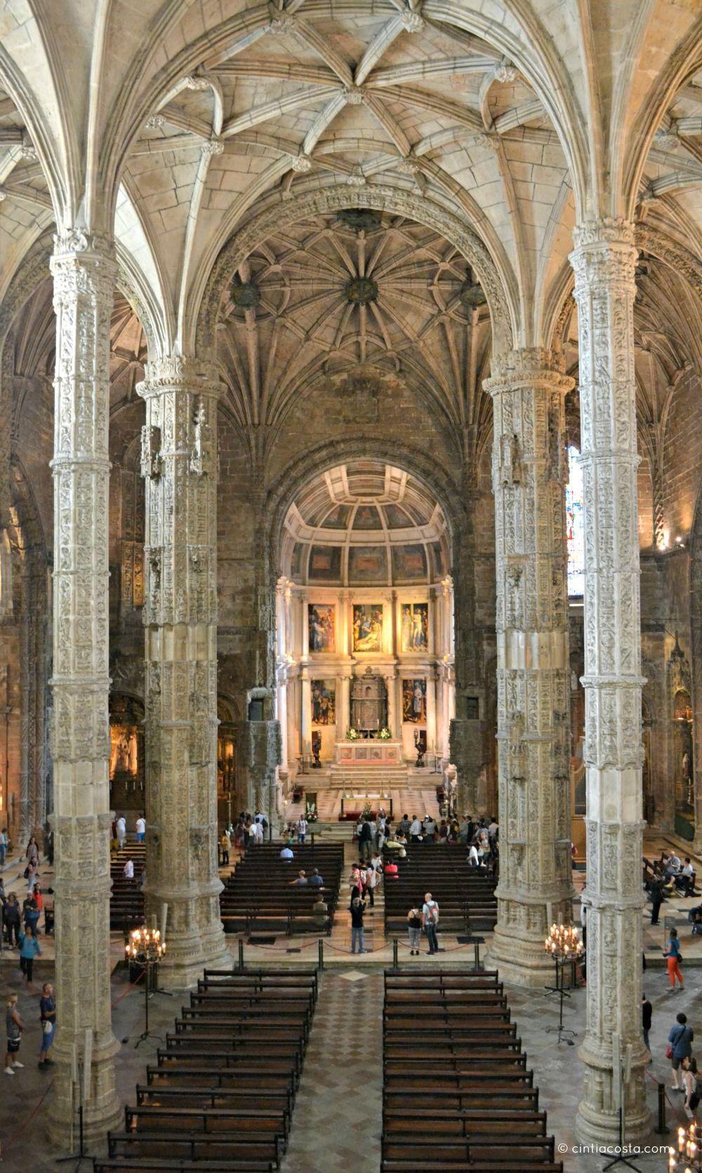Catedral do Mosteiro dos Jerónimos. Foto: cintiacosta.com