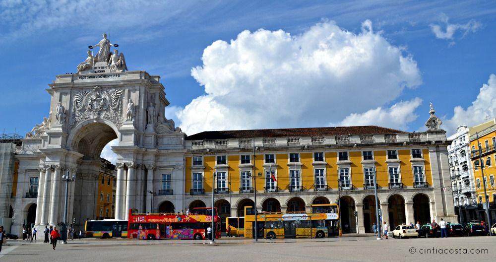 Lisboa, Portugal: Pátio do Comércio. Foto: cintiacosta.com
