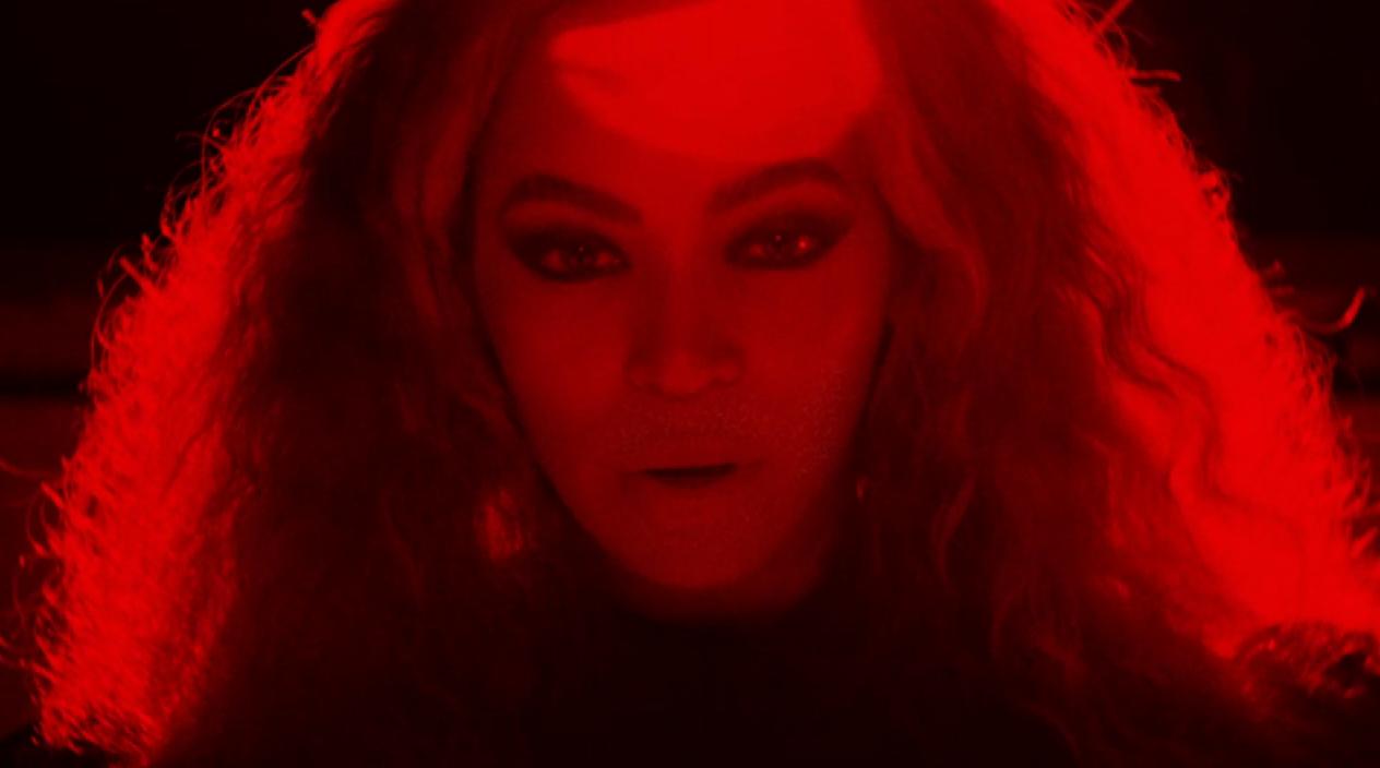 Tudo vermelho no trecho do clipe 6 Inch, do novo álbum da Beyoncé, Lemonade.