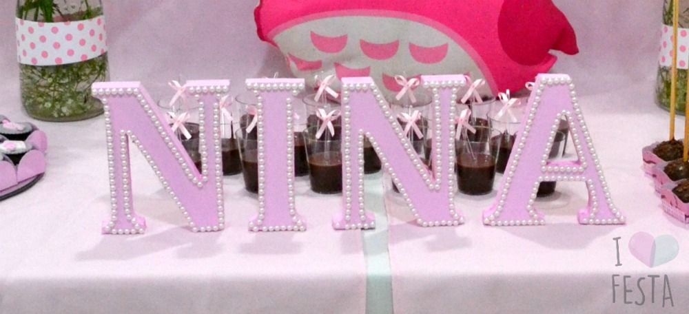 Nina S Baby Shower A Pink And Grey Owl Themed Party