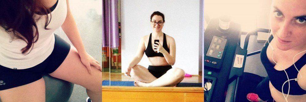 Práticas e exercícios para malhar: pilates, ioga e corrida. Blogueira fitness Cíntia Costa.