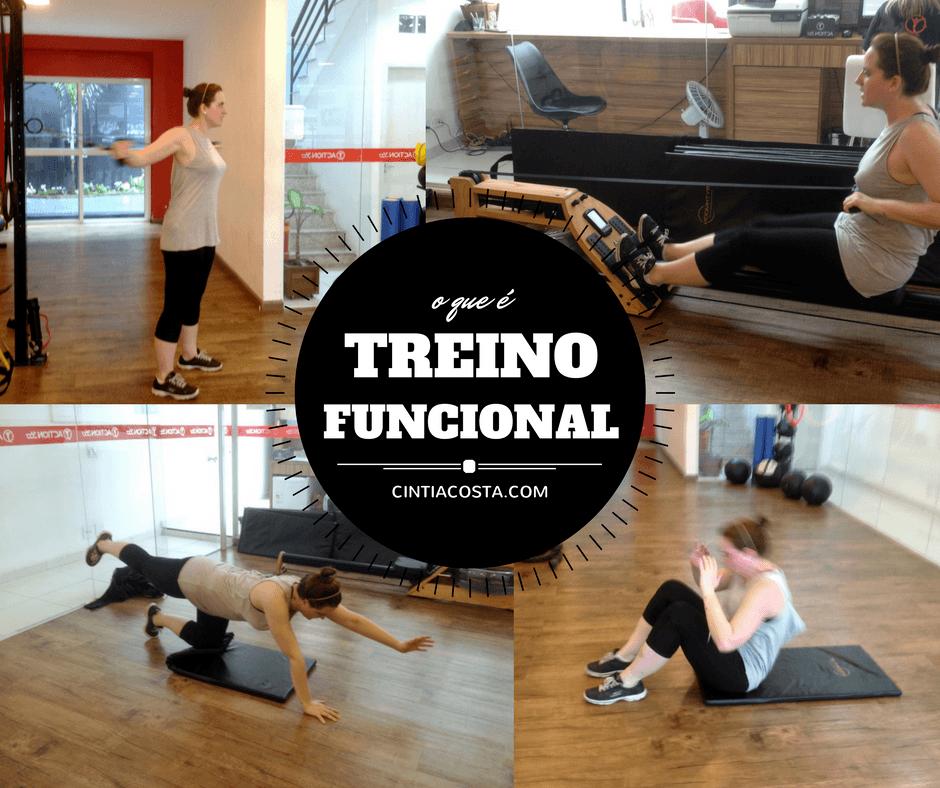 Treino funcional: como é aula de funcional segundo a blogueira fitness Cíntia Costa.