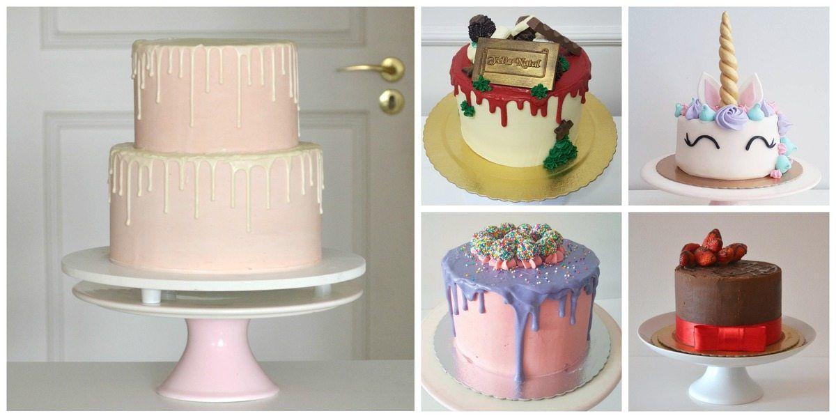 Bolos da Cíntia: os bolos mais lindos e gostosos do ano. Foto: Cíntia Costa.