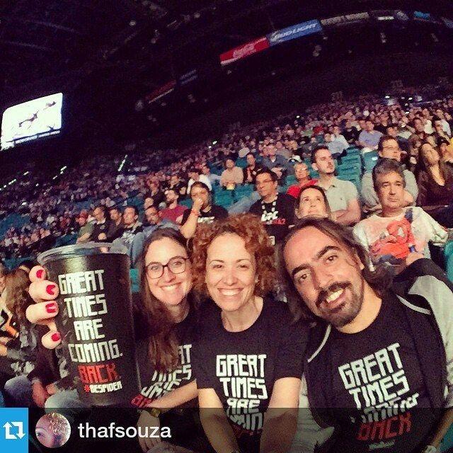UFC em Las Vegas: arquibancada da MGM Grande Arena. Great Times Are Coming Back.