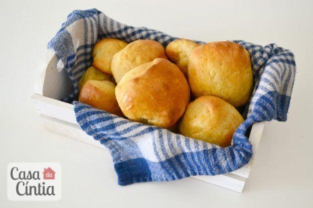 Receita de pão caseiro (pão de leite). Foto: www.cintiacosta.com
