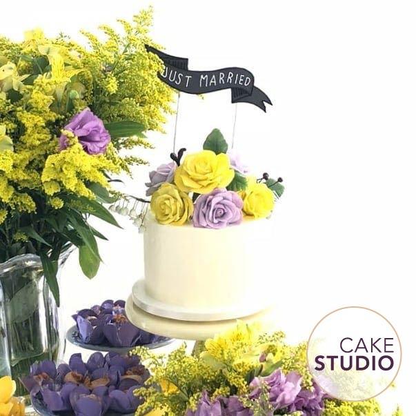 Bolo de casamento feito por Cake Studio ( www.cakestudio.com.br | contato@cakestudio.com.br )