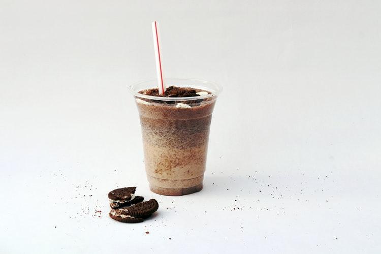 Receita de milkshake de Oreo