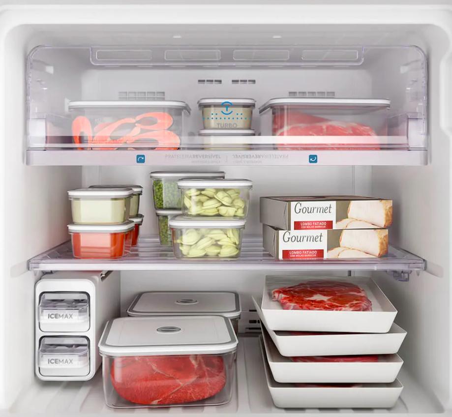 Como congelar alimentos. Foto: Electrolux.