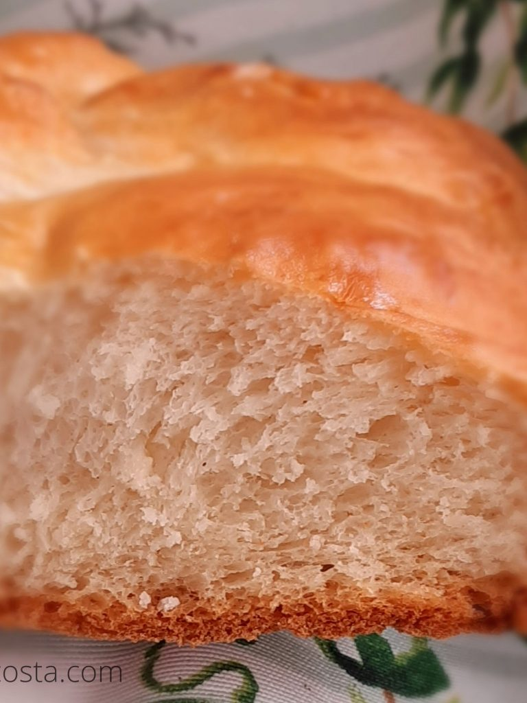 Receita de pão tipo brioche